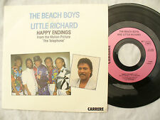 BEACH BOYS LITTLE RICHARD HAPPY ENDINGS French issue N/M