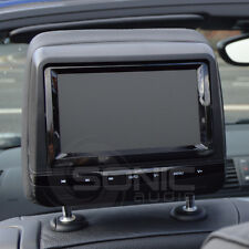 Factory-Style Leather DVD Headrest Screens/Monitors for Mercedes ML/GL/C/E-Class