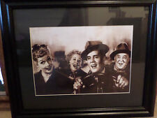 I Love Lucy Framed Art- Going to California