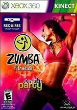 Zumba Fitness Join the Party USED SEALED (Xbox 360) **FREE SHIPPING!!