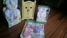FISHER PRICE briarberry dolls bear collection LOT new in box BERRYBETH baby Anna
