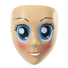 Adult Anime Blue Eyed Sexy Girl Cartoon Female Cosplay Halloween Mask