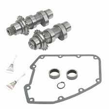 S&S Cycle 551 Chain Drive Cams Camshaft and Install Kit Harley Big Twin 2007-16