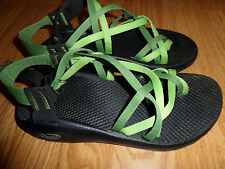 CHACO ZX/2 YAMPA SPORT SANDALS WOMEN'S 7 M GREEN TWO TONE RTL $105
