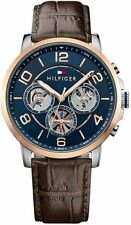 Men's Tommy Hilfiger Sophisticated Sport Brown Strap Watch 1791290