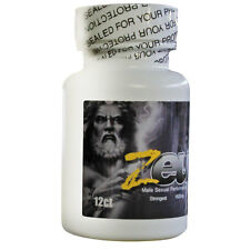 Zeus Male Sexual Supplement Bottle 12 Count Pills