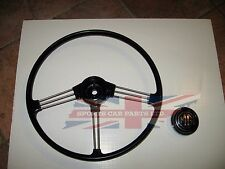 New OE Type Reproduction Steering Wheel with Horn Push Assembly MGB 1963-1967