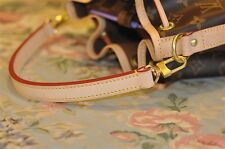 Mcraft 20mm Vachetta Leather handle Strap For Noe pm BB metis handle replacement