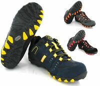 MENS NEW LIGHTWEIGHT SAFETY STEEL TOE CAP WORK TRAINERS BOOTS SHOES UK SIZE 7-11