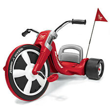 Radio Flyer Red Vintage Kids Tricycle Girls Boys Toy Toddler Big Wheel Outdoor
