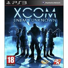 PS3 XCOM Enemy Unknown NUOVO