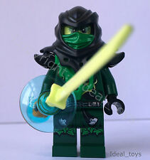 Lego 70732  Ninjago Evil green ninja Lloyd Mini figures New City of Stiix 70732
