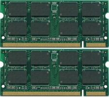 New 4GB (2x2GB) PC2-5300 DDR2-667 200pin Sodimm Laptop Memory Module RAM
