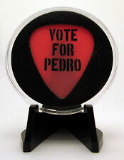 """""""Vote For Pedro"""" Guitar Pick With MADE IN USA Display Case & Easel"""