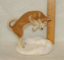 OOAK ADSG NEEDLE FELTED CAT, DOG, ANIMAL, OR PORTRAIT OF YOUR PET!  MINIATURE