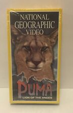National Geographic Video - Puma: Lion of the Andes (VHS, 1996)
