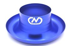 "Air Inlet Polished Alloy Ram Pipe Air Inlet Intake Funnel Duct - 102mm (4"") BLUE"