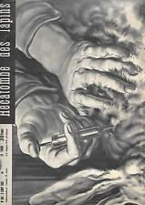 RADAR 2 août 1953 ; MYXOMATOSE des lapins ; Lola MONTES ; pont de la Guillotière