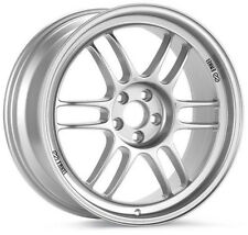 17 ENKEI RPF1 SILVER RIMS 17x8 +35 5x114.3 FITS: LANCER RSX TSX CIVIC ECLIPSE TC