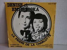 DENISE et EMILE ROKA La priere de Charlotte BCC 7736 BELGIQUE Dédicacé