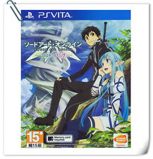 PSV Sword Art Online Lost Song ENG / 刀剑神域 失落之歌 中文 / 日文 SONY VITA Action Bandai