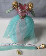 THE CHILDREN'S COLLECTION RAPUNZEL BARBIE OUTFIT ONLY