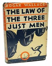 The Law of the Three Just Men Edgar Wallace 1931 A.L. Burt Book