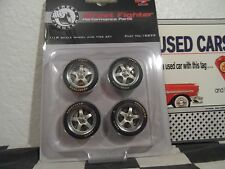 GMP 1:18  STREET FIGHTER 5 SPOKE WHEELS AND TIRES GOODYEAR EAGLE