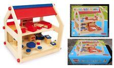 Casa delle bambole Lilli completa di mobili - Legler casetta 2874