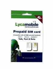 LycaMobile Prepaid Sim Card $29 Plan Free 1st Month - MUST ACTIVATE THROUGH US
