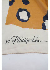 Phillip Lim Multi Colored Silk Four Corner Neck Scarf Size OS