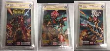 All-New X-Men Uncanny Avengers 1 J Scott Campbell Midtown Variant Signed Set
