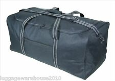 "Large 30""/75cm 100 Litres Lightweight Black Sports Holdall Travel Cargo Bag"