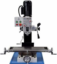 PM-727-M VERTICAL BENCH TOP MILLING MACHINE W/3 AXIS DRO INSTALLED, 3YR WARRANTY