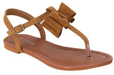 alvina-27k Kids Toddlers Youth Wedding Party Sandals Girls' Dress Shoes Tan 1