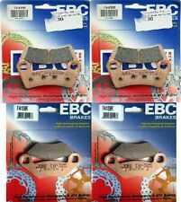 EBC R Series (2) Front +  (2) Rear  Brake Pads 2008 -14 Polaris RZR 800