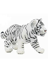 Papo White Tiger Cub Toy Figurine 50048 NEW