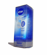 5 Pack  DUREX Play Longer Desensitizing Lubricant for Men Of happiness 28.4g