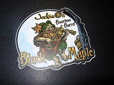 JACKIE O'S PUB Black Maple Bourbon Logo STICKER decal craft beer brewery brewing