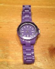 Identity London Girls Analogue Plastic Watch Purple