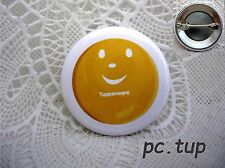 "Gadget miniature Tupperware : Épingle / Badge  ""Ma boîte à rêves"" SOURIRE SMILEY"