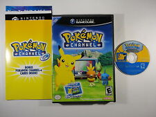 ¤ Pokemon Channel ¤ Complete GREAT Nintendo GameCube Wii