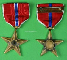 WWII BRONZE STAR MEDAL - Original GI Issue full size made in the USA