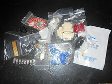 Lot of Mixed Electronic Component Parts Plug IC Capacitor Connector Grab Bag H2