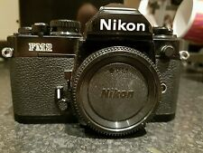 Black Nikon FM2N 35mm SLR Film Camera Body Only
