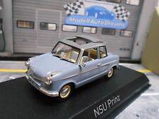 NSU Prinz II 2 MKII 1959 grey grau Norev NEU 1:43