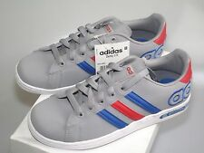 Adidas Derby grey childrens casual lace up sports trainers (B Grade) size UK 3