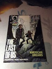 The last of us #1 american dreams comic book rare
