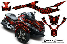 CAN-AM BRP SPYDER RS GS GRAPHICS KIT CREATORX DECALS WRAP SCR