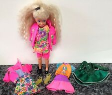 1991 Vintage Barbie Skipper Doll & Clothes LARGE LOT Barbie Tagged 90's